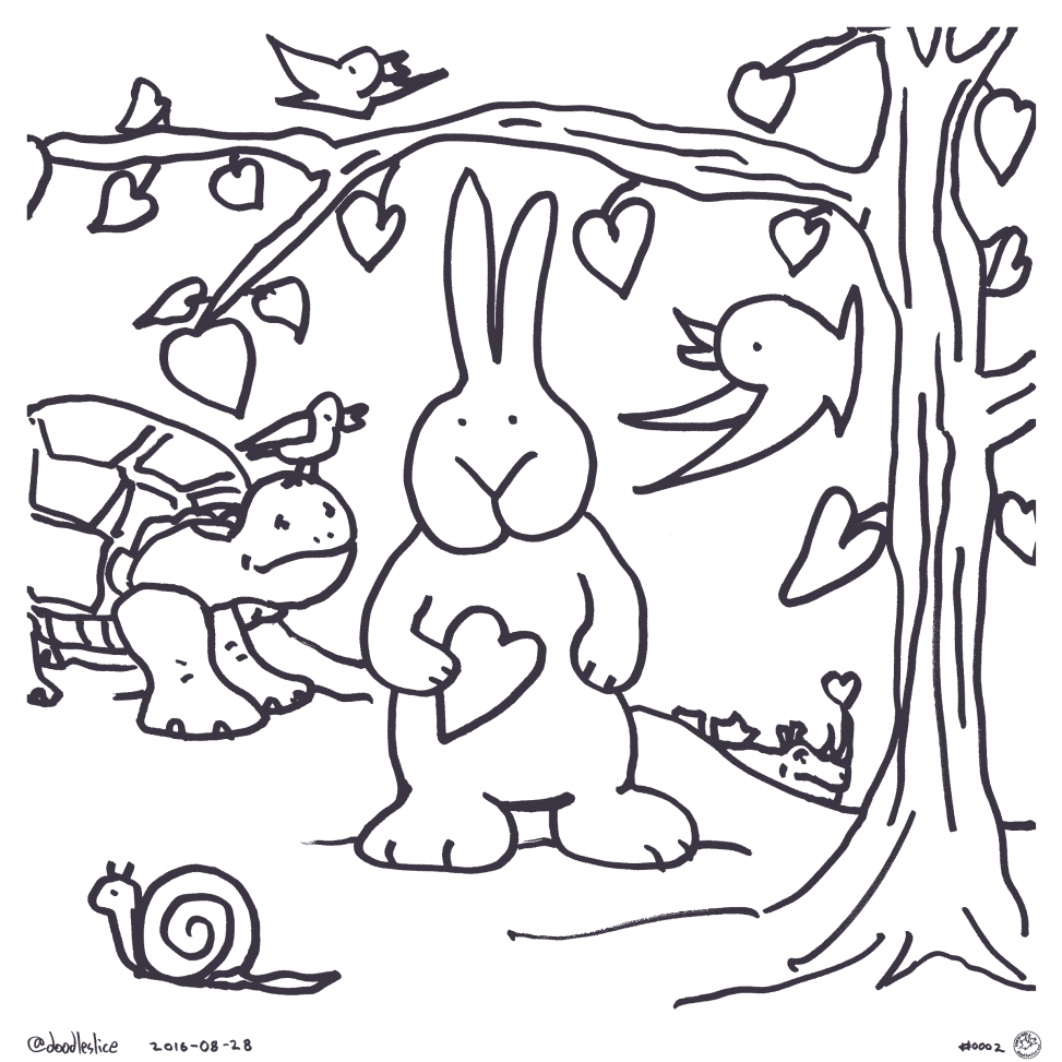 Headstart Heart - coloring page